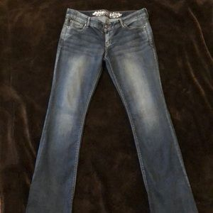 Like new Express Barely Boot cut jeans